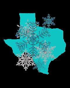 Texas Snowflakes