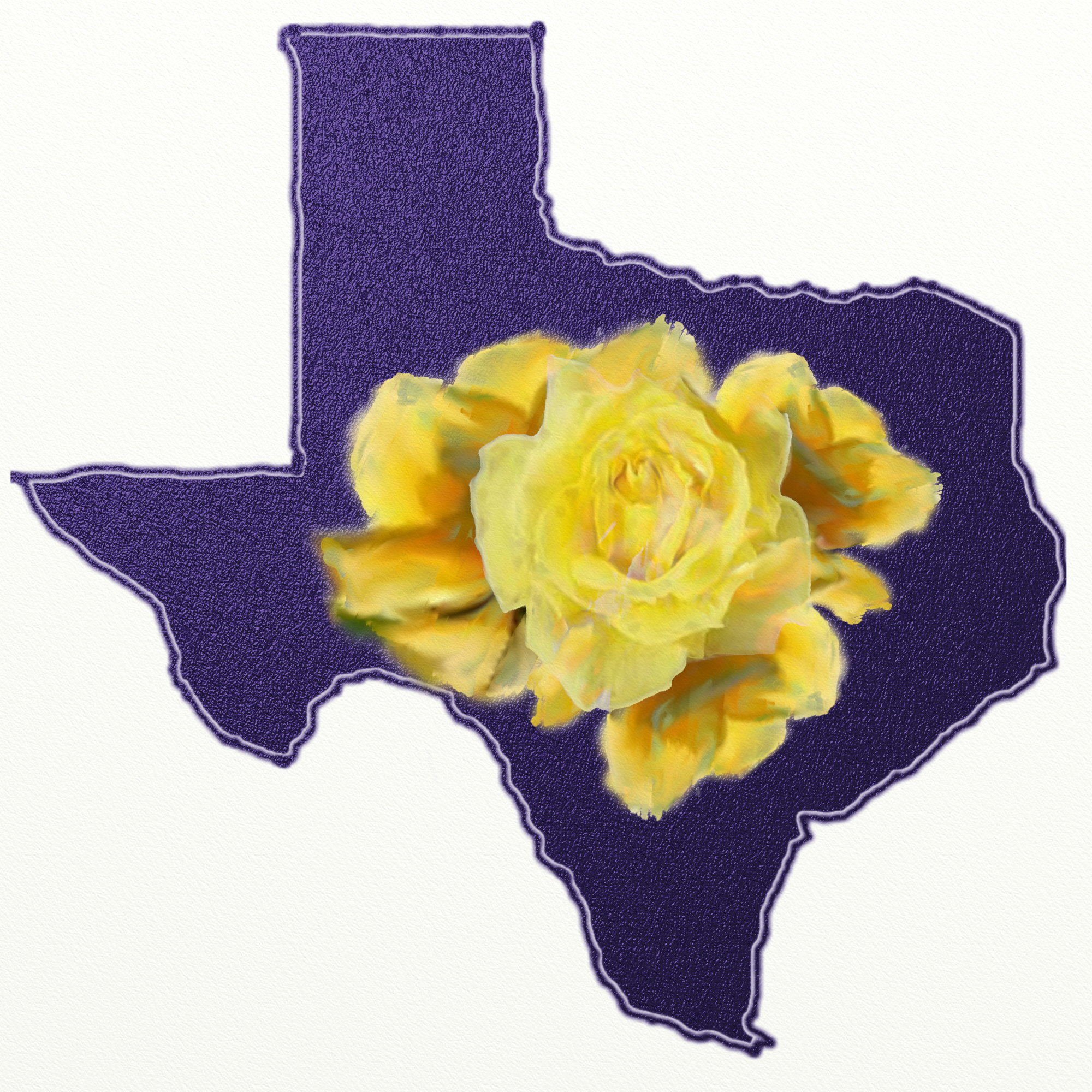 The legend of the yellow rose of texas totally texas gifts digital painting by cami perriraz yellow rose of texas mightylinksfo