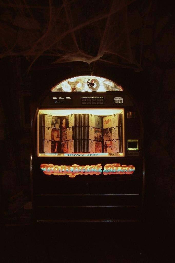 Jukebox at Devil's Backbone Tavern, Fischer, TX Image by Cami Perriraz