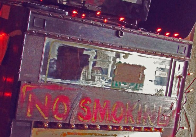 No smoking in Devil's Backbone Tavern, Fischer, TX Image by Cami Perriraz