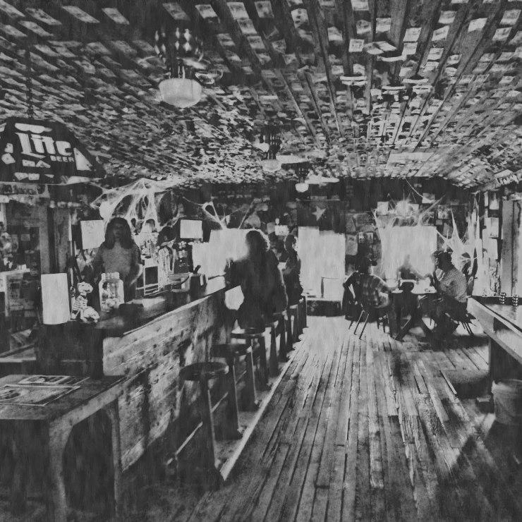 Ghostly presences at Devil's Backbone Tavern, Fischer, TX Image by Cami Perriraz