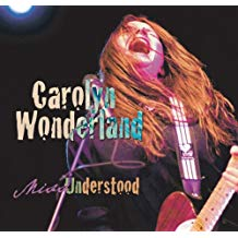Album cover for Carolyn Wonderland Miss Understood