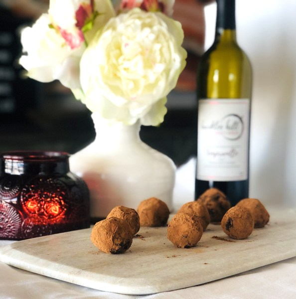 Burkley Hill Vineyard Wine & Dark Chocolate Truffles
